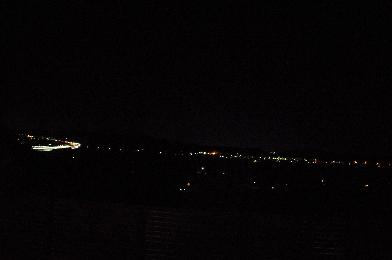 【遠州森町PA下り】ハイウェイ夜景