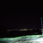 【袋井市&森町】萱間の道路から見える夜景