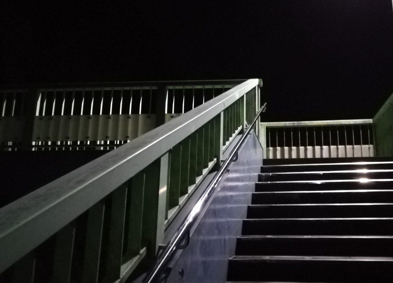 【磐田市豊田町】歩道橋からの夜景が意外に良い!?
