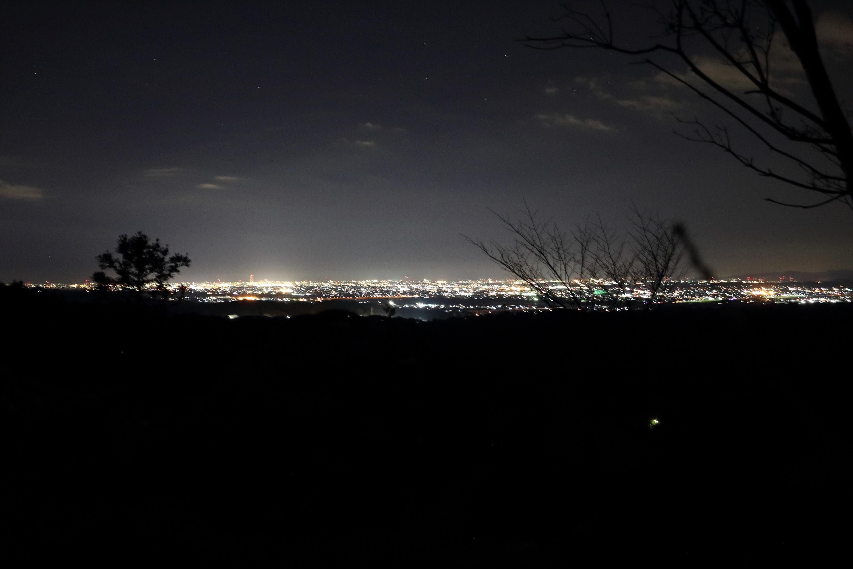 【磐田市】獅子ヶ鼻公園のトイレでジェニフォト。夜景も格別です。