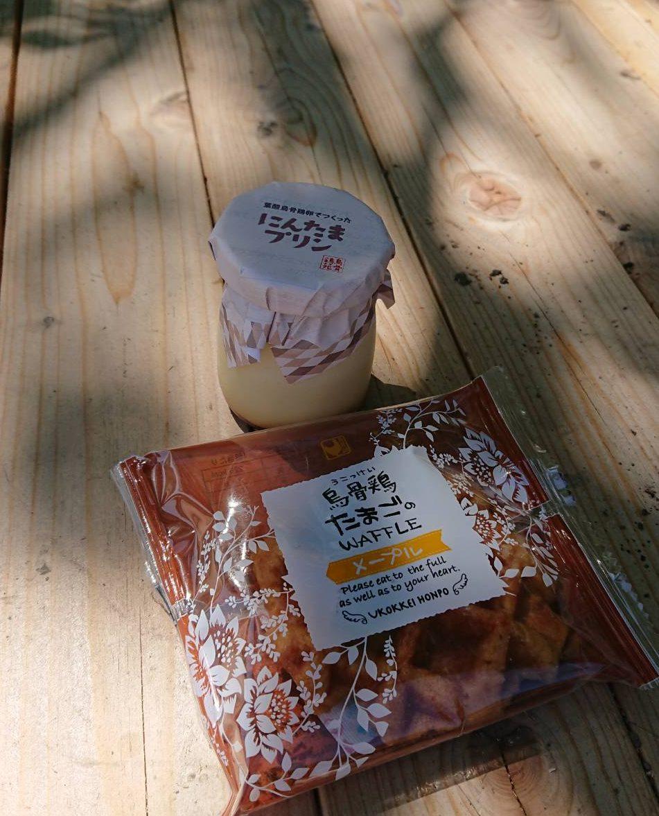 【森町】烏骨鶏苑のにんたま塩プリンを食す!(たまごの家)