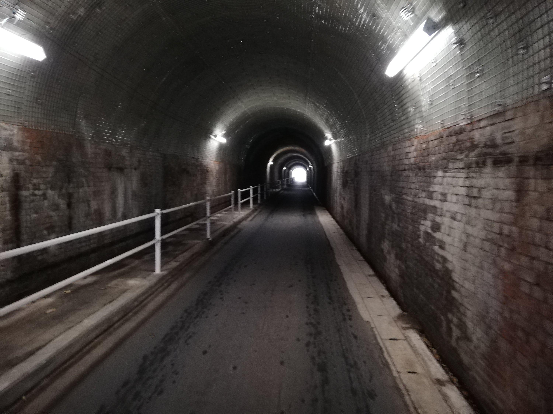 【激狭トンネルシリーズ④】天竜区二俣の鳥羽山洞門!雰囲気◎